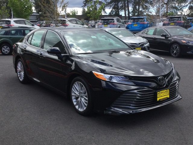 New 2018 Toyota Camry Xle V6 Sedan In Bend X35257 Kendall Toyota
