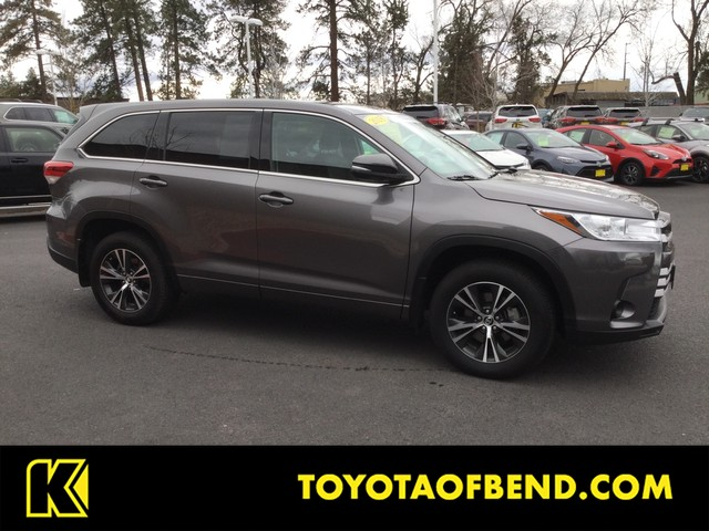 Certified Pre Owned 2018 Toyota Highlander Bse