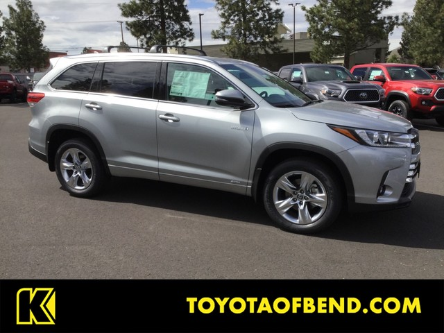 New 2019 Toyota Highlander Hybrid Limited All Wheel Drive SUV