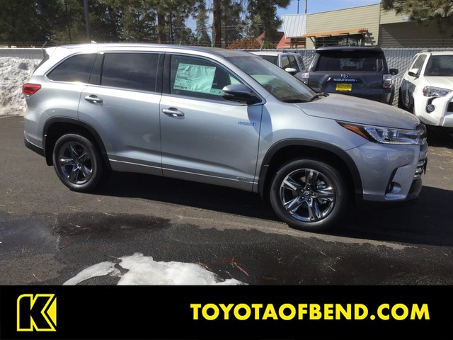 New 2019 Toyota Highlander Hybrid Limited Platinum All Wheel Drive SUV