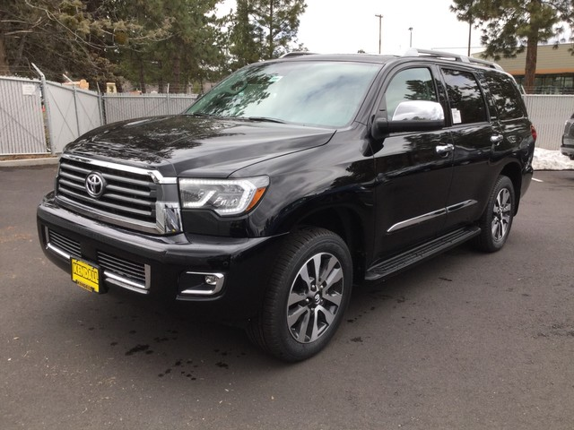 New 2019 Toyota Sequoia Limited Four Wheel Drive Suv