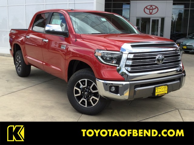 New 2019 Toyota Tundra 4WD 1794 Edition CrewMax 5 5' Bed 5 7L (Natl)